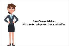 Best Career Advice What To Do When You Get A Job Offer Careerfunda