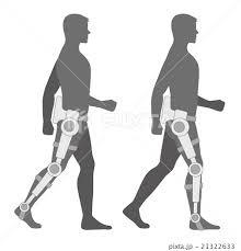 歩行支援介護ロボット イメージイラストのイラスト素材 21322633 Pixta