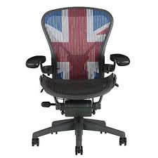 ... Buy Herman Miller Aeron Office Chair, Size B, Union Jack Online At In  Union ...