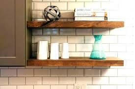 thick wood floating shelves solid diy amazing home interior design ideas wooden floa