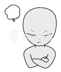 考える宇宙人イラスト No 1566009無料イラストならイラストac
