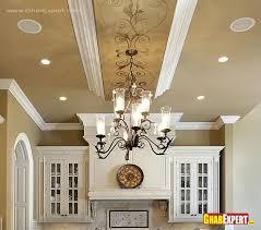 chandelier and false ceiling d