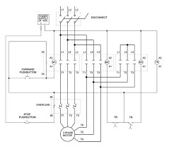 3 phase motor control circuit diagram ireleast info how to wire a motor starter library automationdirect wiring circuit
