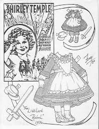 Small Picture 132 best shirley temple paper dolls images on Pinterest Shirley