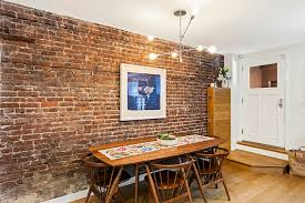 raw appeal of exposed brick