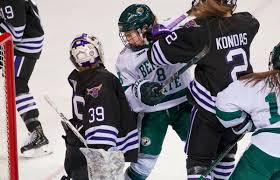 BSUBeavers.com | Beavers comeback in third period to skate to 3-3 tie with  Mavericks; Fall in shootout