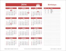 Create A Calendar Template Birthday Calendar Template Yearly Birthday Calendar