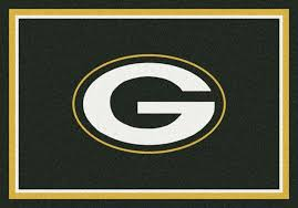 green bay packers area rug