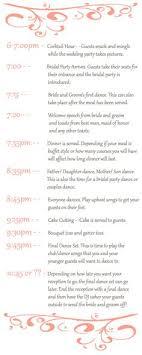 Wedding Reception Program Sample Templates   Sample Wedding ...