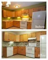 Contemporary Kitchens With White Appliances And Oak Cabinets Mamaeatsclean A Honey Kitchen Intended Design