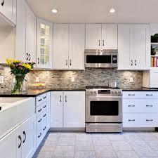 White Kitchen Cabinets With Black Countertops Sasayukicom