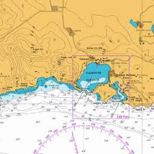 Antigua Chart Falmouth Harbour And English Harbour Marine Chart