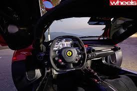 Ferrari -La -Ferrari -steering -wheel -interior
