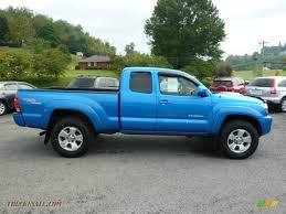 2005 Toyota Tacoma V6 TRD Sport Access Cab 4x4 in Speedway Blue ...