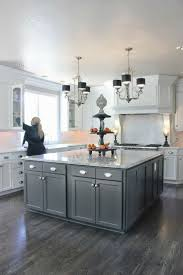55 Grey Kitchen Cabinets With Black Countertops Dark Cabinets Light