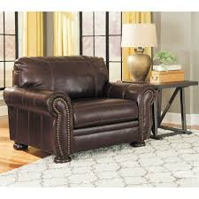Leather Chairs Living Room Banner Leather Chair 0hh 504c Ashley Furniture 5040423 Afw