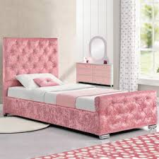 single beds for girls. Interesting Beds SALE Girls Pink Crushed Velvet Princess Single Bed Frame With Storage And  MATTRESS To Beds For I