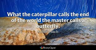 Phone Call Quotes Amazing What The Caterpillar Calls The End Of The World The Master Calls A