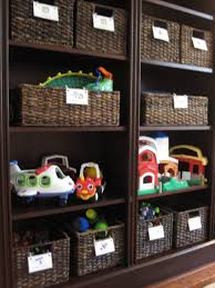 Furniture: Attractive Colorful Storage Cabinets For Toys With ...
