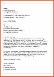 Business Letter Attachment Format Program Format