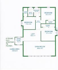 Gambrel Roof House Floor Plans