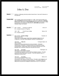Project Scheduler Resume Reference For Resume