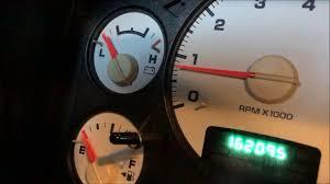 Dodge Truck Engine Light Dodge Read Check Engine Light Without A Code Reader Or Scanner Tool