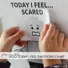Lego Feelings Chart