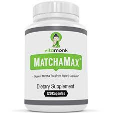 matchamax organic anese matcha capsules vitamonk supplements for smooth zen like energy