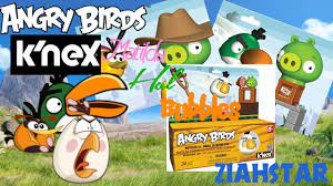 Angry Birds K'nex review: Hal, Maltilda and Bubbles. - YouTube