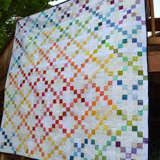 15 Irish Chain Quilt Patterns (Free Tutorials) | FaveQuilts.com & Irish Chain Quilt Patterns Adamdwight.com