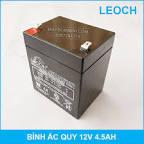Bình ắc quy khô mini 12V 4.5Ah LEOCH cao cấp chuyên dụng | Lazada.vn