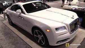 rolls royce wraith white interior. 2016 rolls royce wraith exterior and interior walkaround chicago auto show youtube white