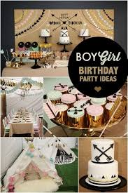 Boy And Girl Aztec Birthday Party Ideas Sibling Birthday