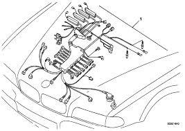 original parts for e38 750i m73 sedan engine electrical system original parts for e38 750i m73 sedan engine electrical system engine wiring harness estore central com