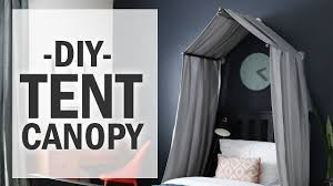 How to make a Bed tent canopy ? DIY - Bed Tent & Dream Tents