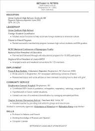 Student Sample Resumes How To Make A Resume For A Student Resumes ...