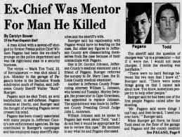 Ex-Chief Pagano mentor for the man he killed, Mark Tim Todd ...
