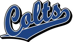 Team Pride: Colts team script logo