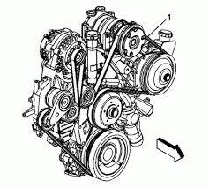 car pictures l diesel belt routing diagam serpentine belt routing diagram picture for the gmc and chevrolet 6 6l diesel engine