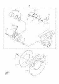2016 yamaha stryker xvs13cgcl rear brake caliper parts best oem rh bikebandit stryker blueprints stryker