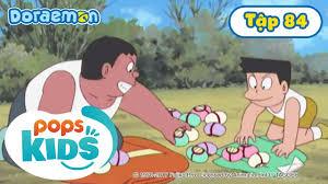 Tuyển Tập Hoạt Hình Doraemon Tiếng Việt Tập 84 - Găng Tay Điều Khiển Từ Xa,  Đội Sao Đỏ Tí Hon