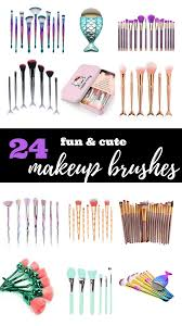24 cute fun makeup brush sets from amazon