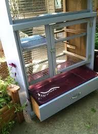 dresser bunny hutch diy cage outdoor rabbit plans