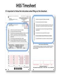 ihss w2 form ihss timecard fill online printable fillable blank pdffiller