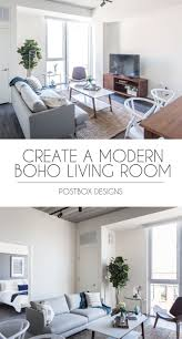 Diy Room Design Online See The Before Afters Of This Modern Boho Living Room