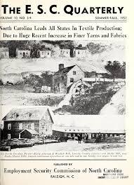 E.S.C. quarterly - State Publications - North Carolina Digital Collections
