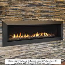 echelon ii 60 echelon ii 60 wide view fireplace by majestic