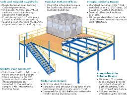 warehouse mezzanine modular office. Mezzanine Construction Warehouse Modular Office