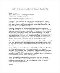 What Should Be In A Letter Of Recommendation For College Writing A Letter Of Recommendation For A Student Applying